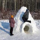 Дети говорили, что именно они построили этот домик